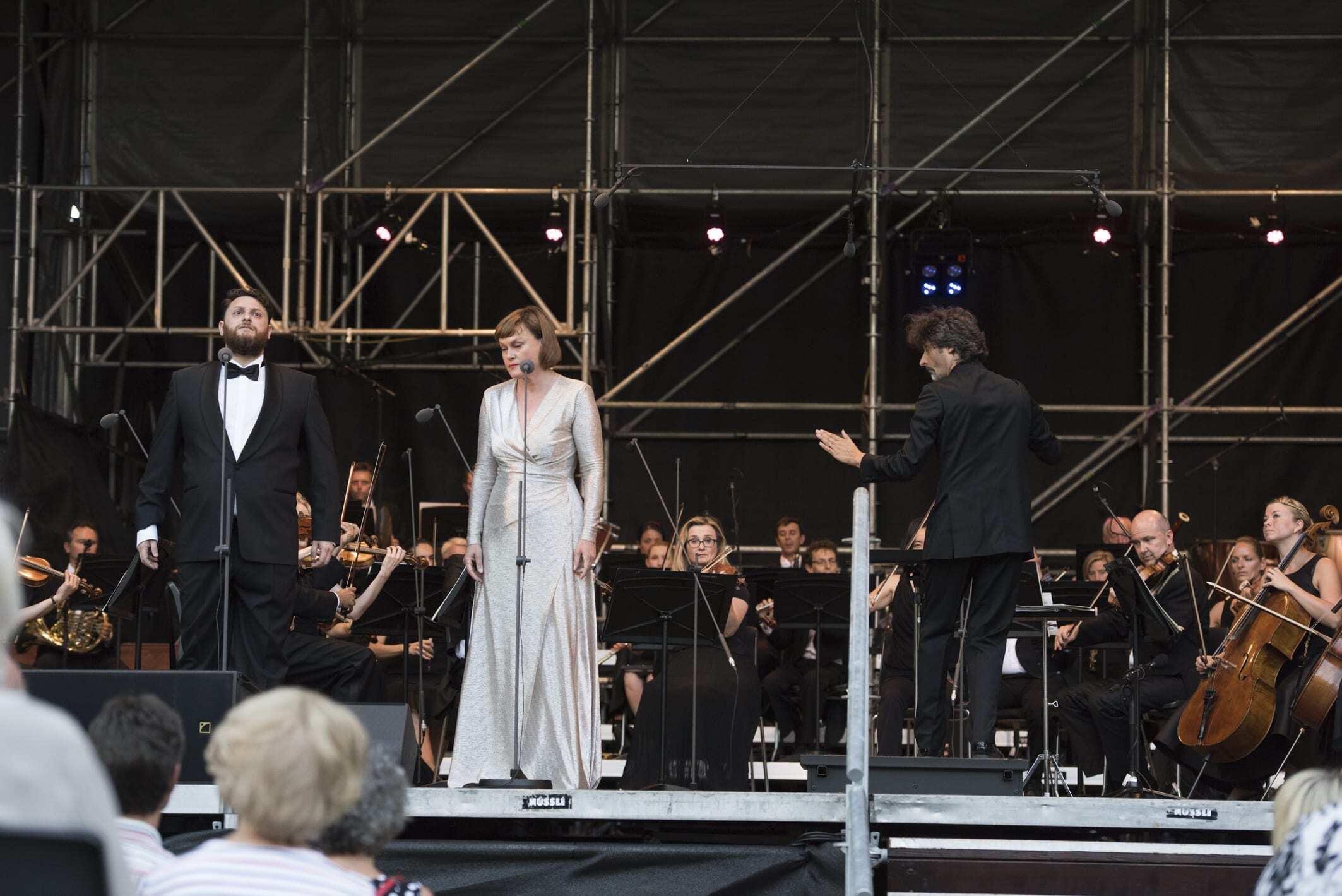 Classic Openair, Musikkolegium Winterthur - Airam Hernández & Vesselina Kasarova
