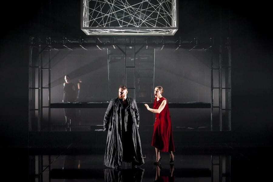 Lucia de Lammermoor, Opéra de Lausanne ©Alan Humerose